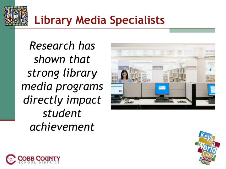Library media specialists