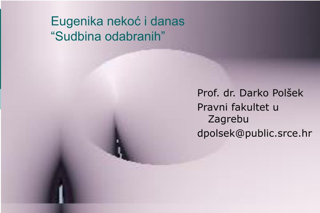 Prof. dr. Darko Polšek