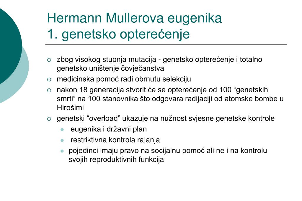 Hermann Mullerova eugenika