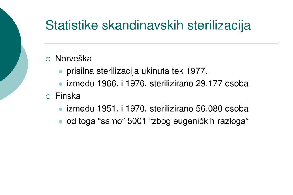 Statistike skandinavskih sterilizacija