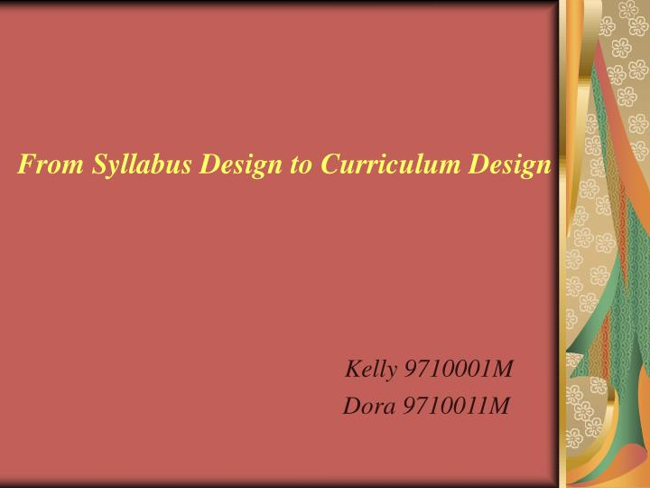 From syllabus design to curriculum design l.jpg