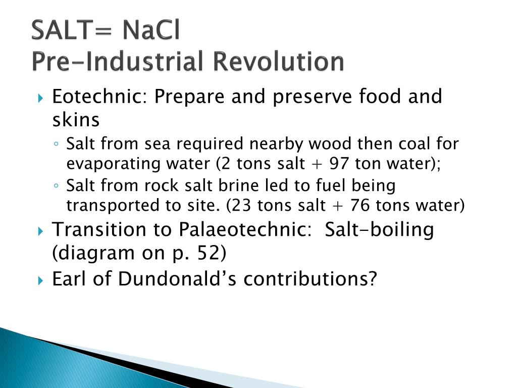 SALT= NaCl