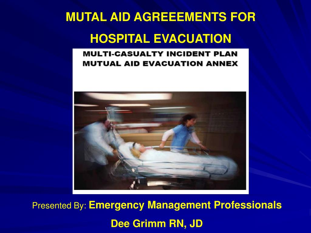 MUTAL AID AGREEEMENTS FOR