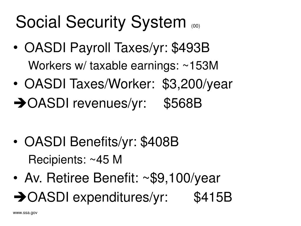 is the social security system broken The social security tax rate in the united states is 62% and if you're curious, this can be further broken down into 5015% for retirement and survivors benefits and 1185% for social security .