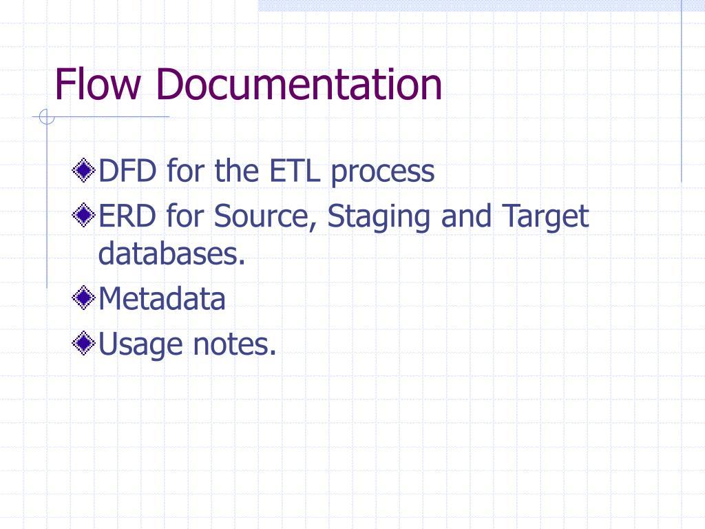 Flow Documentation