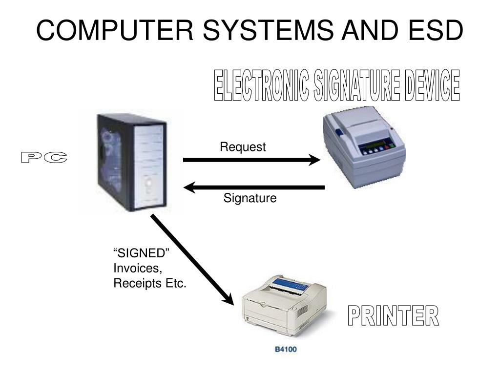 COMPUTER SYSTEMS AND ESD