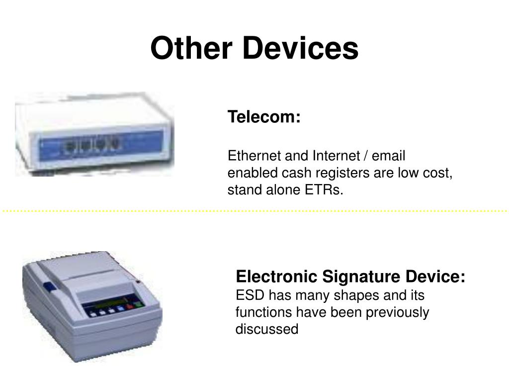Other Devices