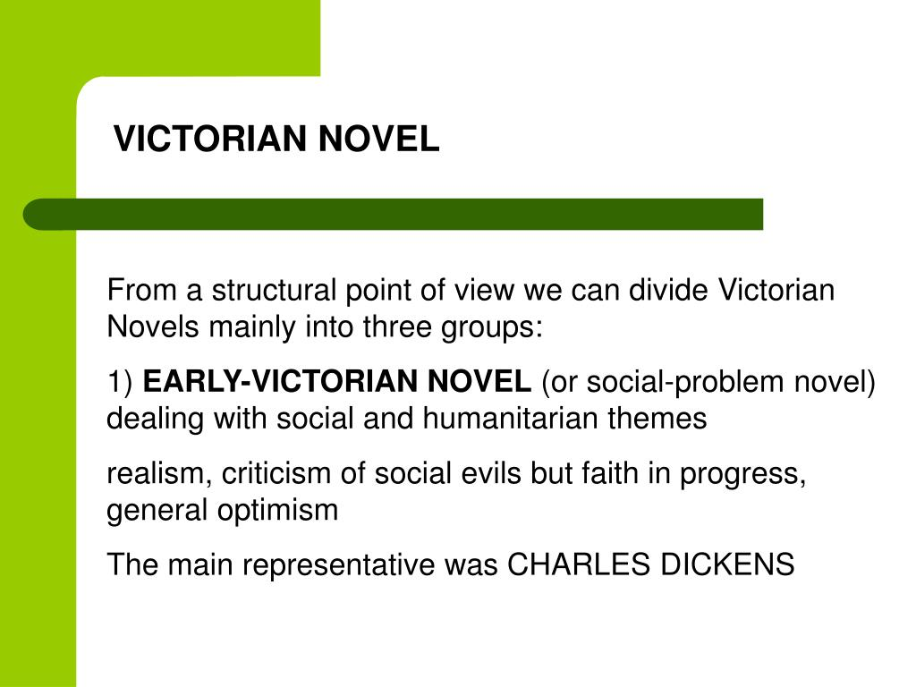 An Analysis of the Victorian Society in Novels by Charles Dickens