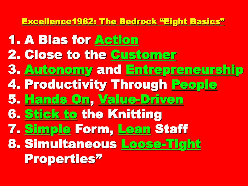 Excellence1982: The Bedrock Ei