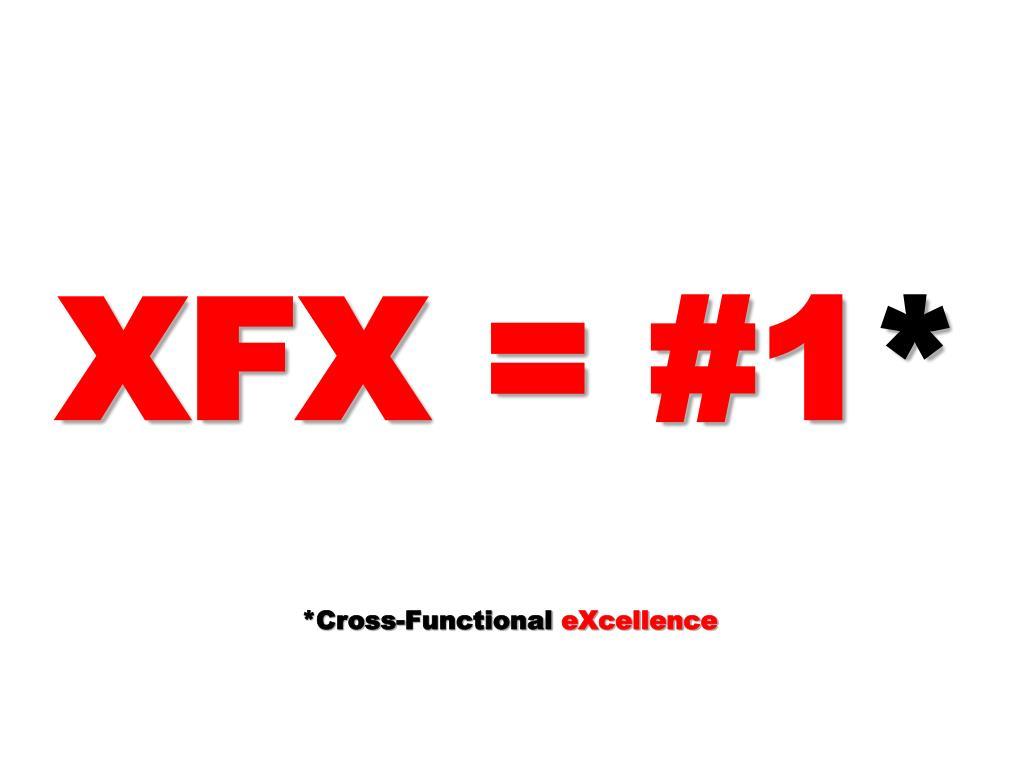 XFX = #1