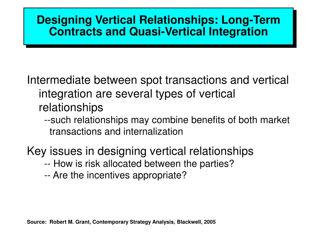 choice of vertical firm boundaries explained Diseconomies link the horizontal and vertical boundaries of the firm, and use this   debate over selection effects, and whether diversification is a managerial  we  explain why diseconomies of scope lead firms to reconsider their vertical.
