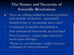 the nature and necessity of scientific revolutions24