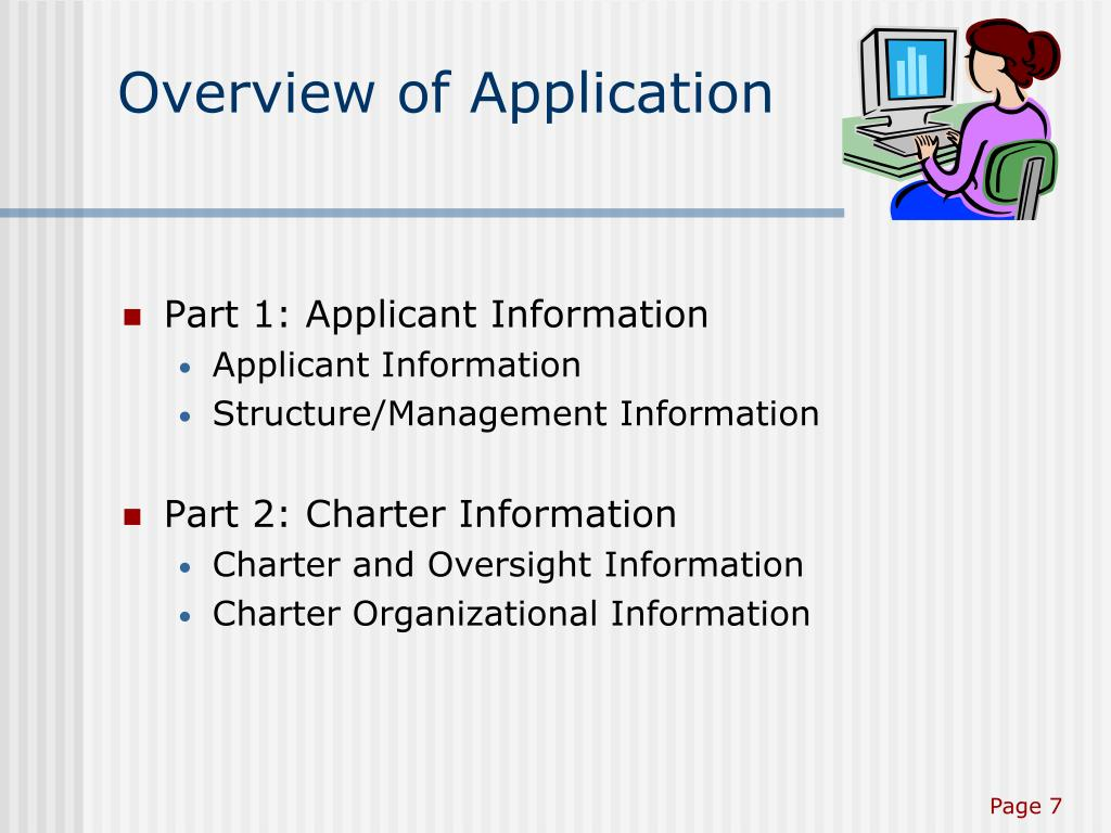 Overview of Application