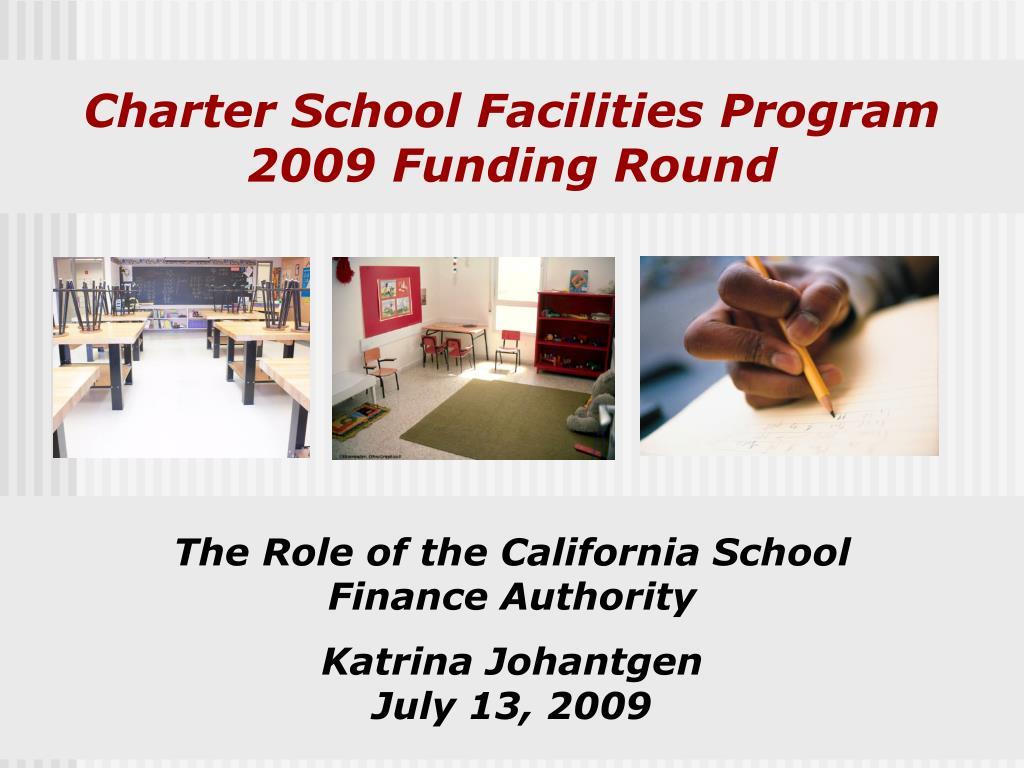 Charter School Facilities Program