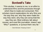 bordwell s take