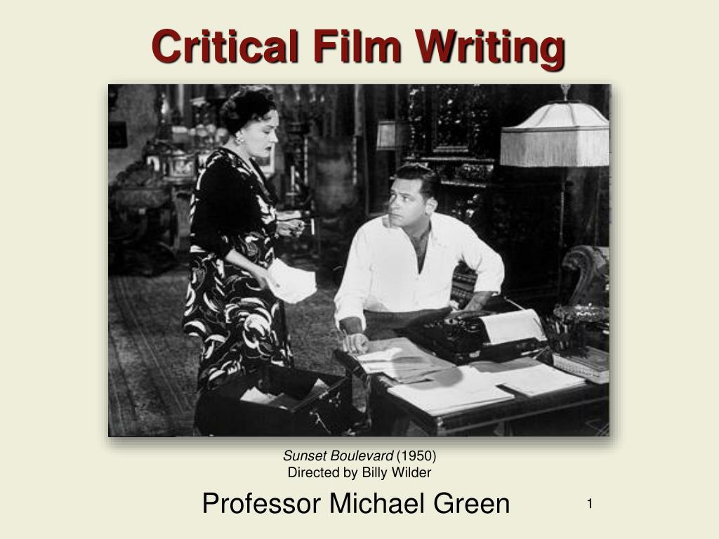 critical film writing