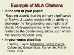 example of mla citations
