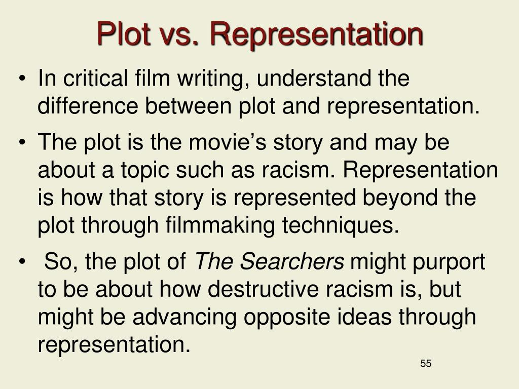 Plot vs. Representation