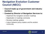 navigation evolution customer council necc