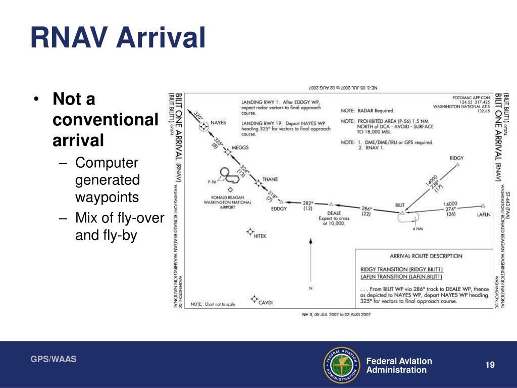 RNAV Arrival