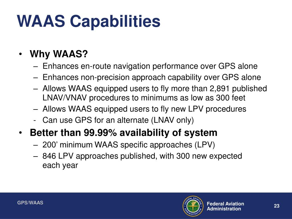 WAAS Capabilities