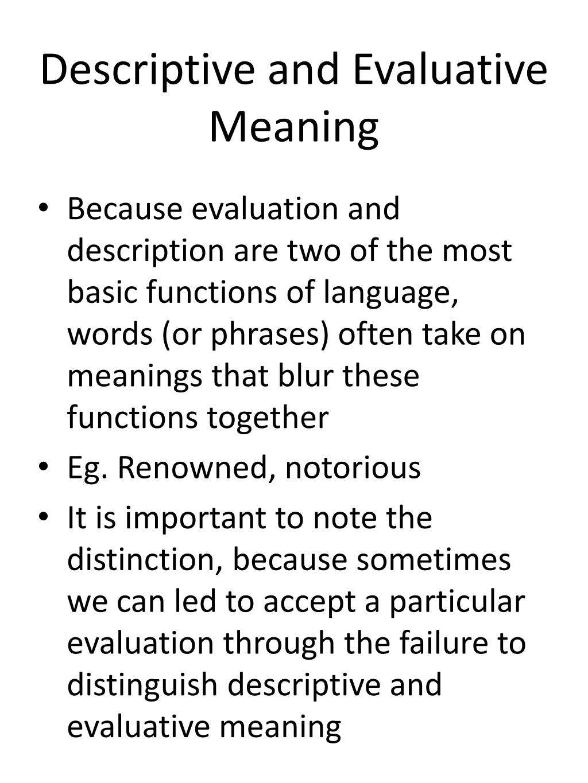 descriptive essays meaning