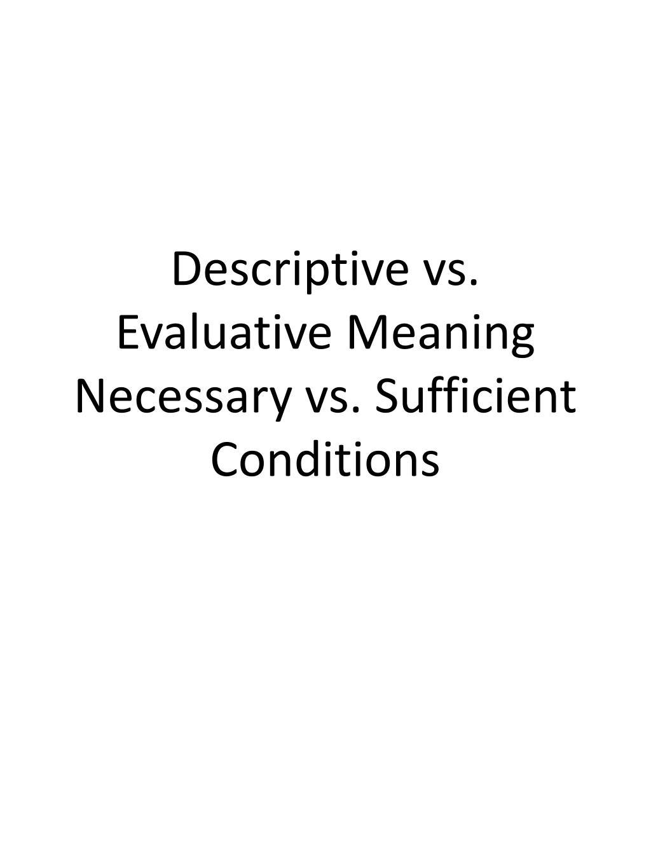 PPT - Descriptive vs. ...