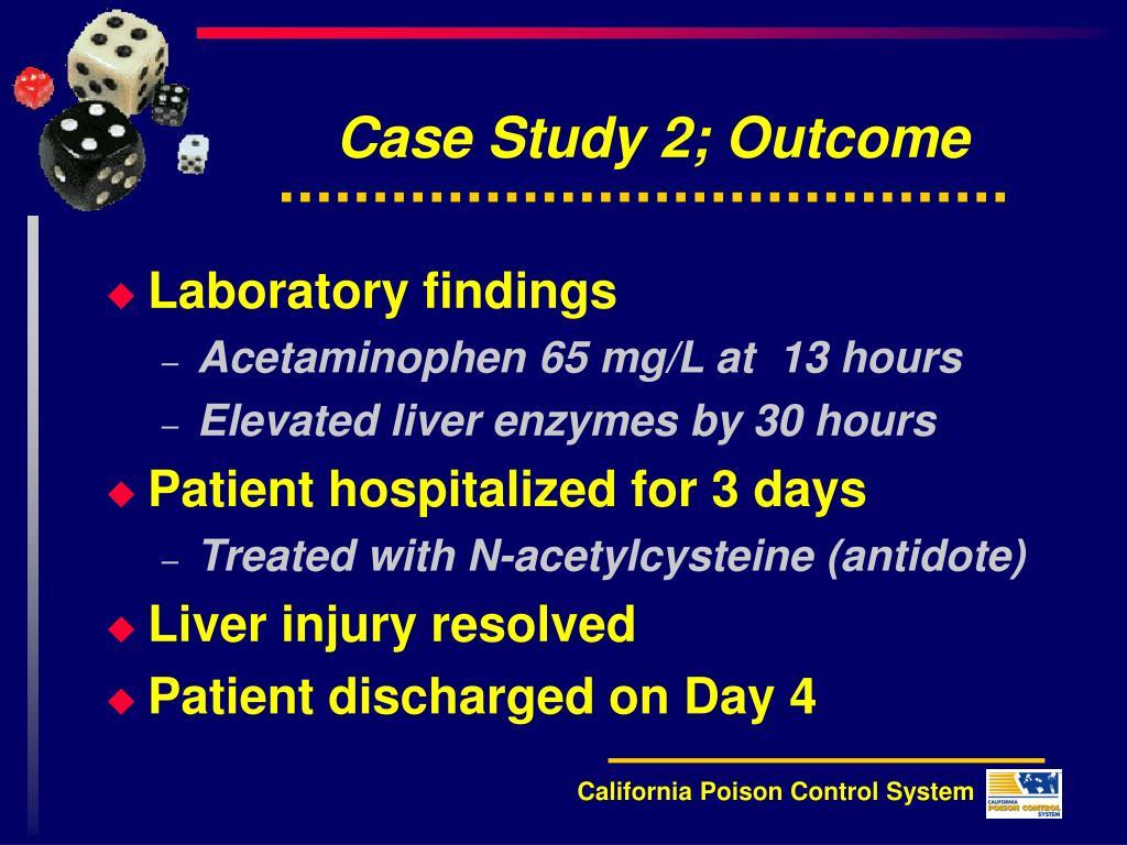 outcome from scenario study