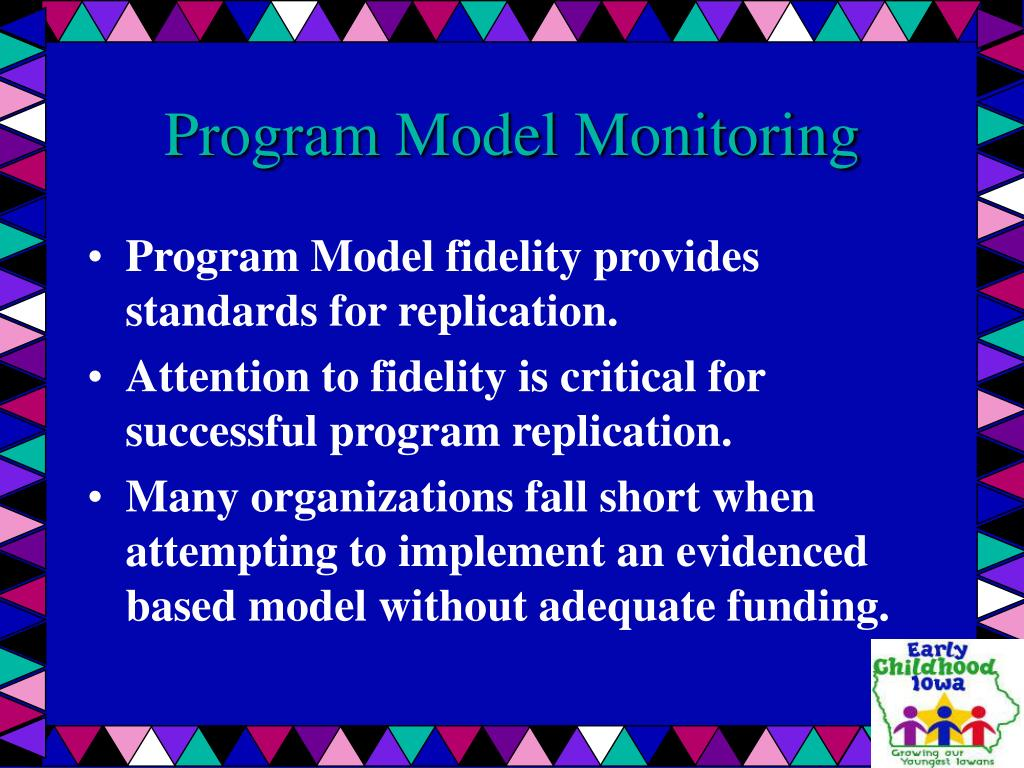 Program Model Monitoring