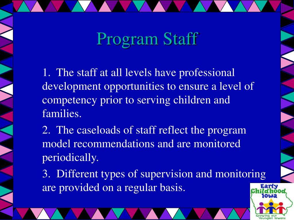 Program Staff