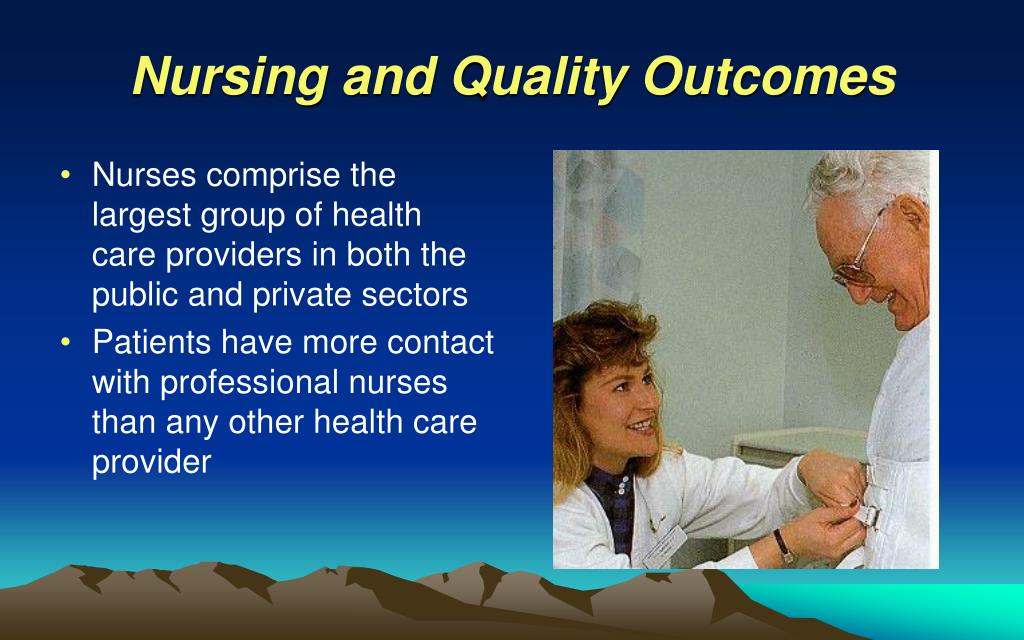 nursing education and quality patient care Nursing turnover has been reported to range from 15 percent to 36 percent per year xiii high nurse turnover rates negatively affect the ability of hospitals to meet patient needs and provide quality care.
