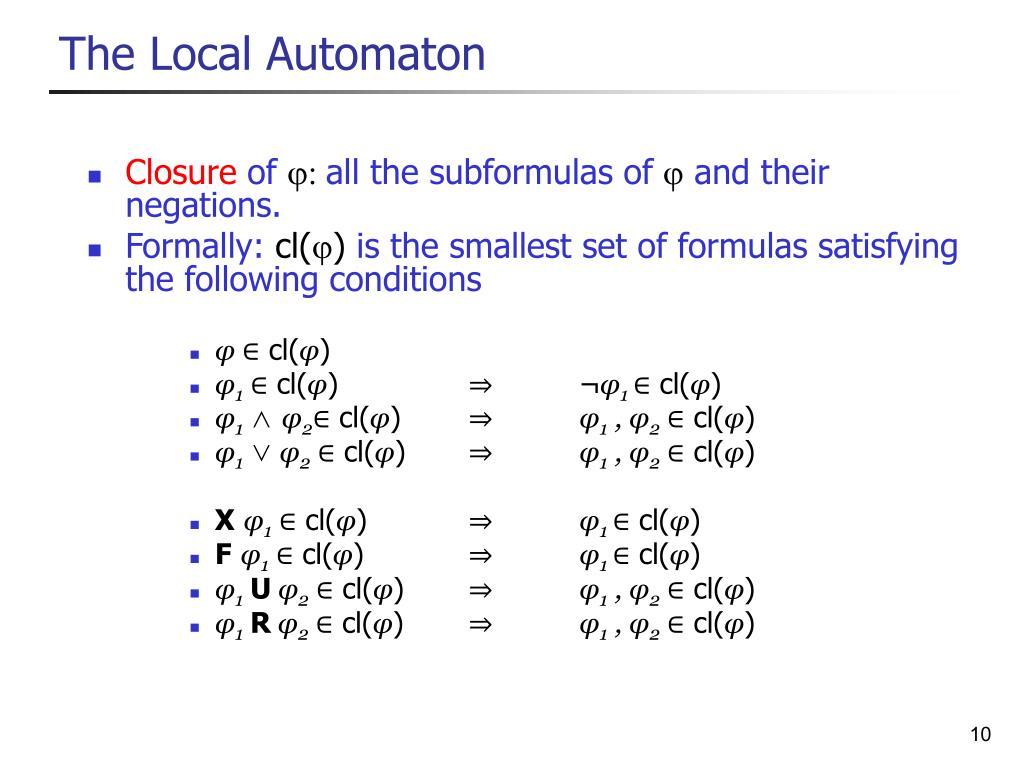 The Local Automaton