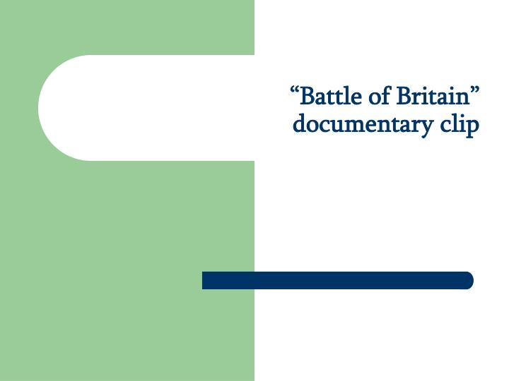 Battle of britain documentary clip l.jpg