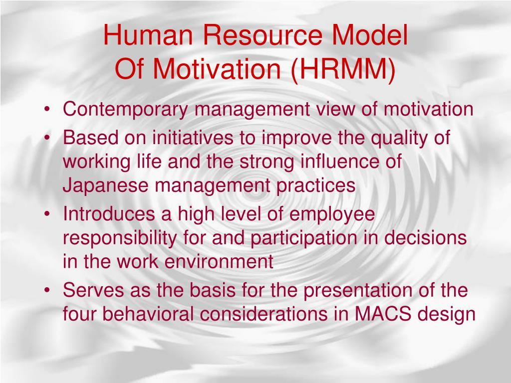 HumanResourceModel
