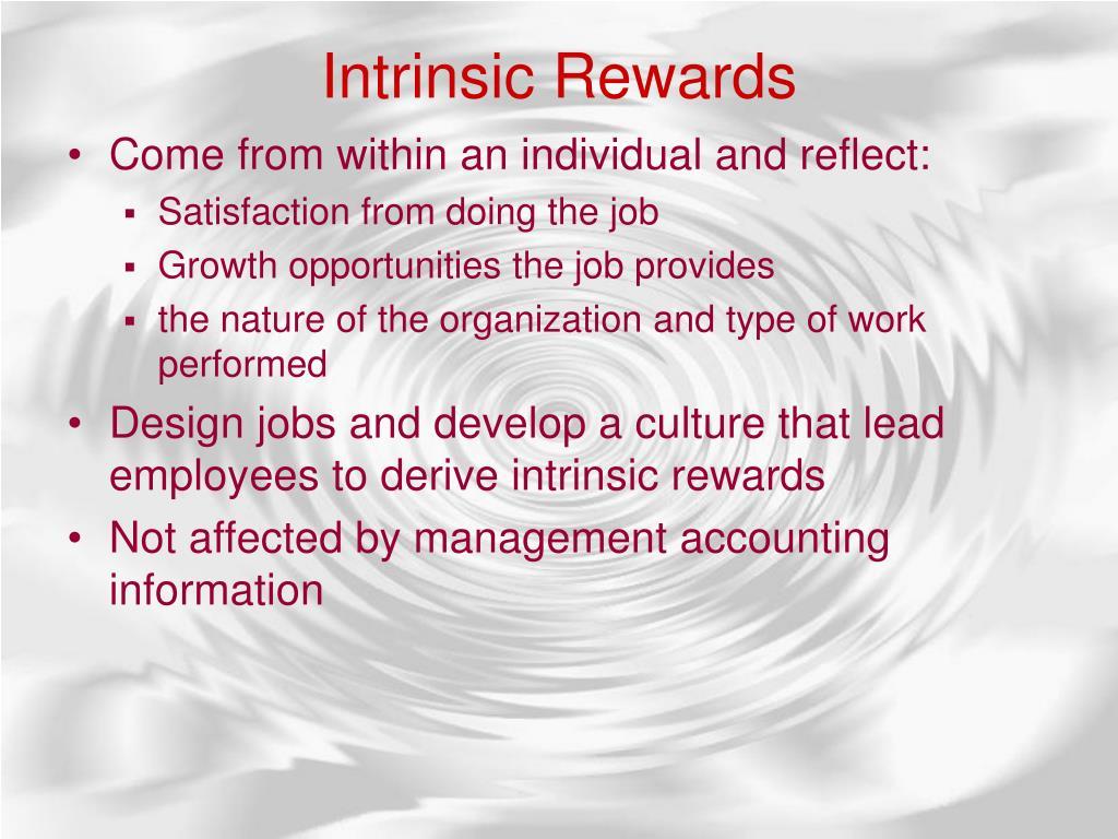 Intrinsic Rewards