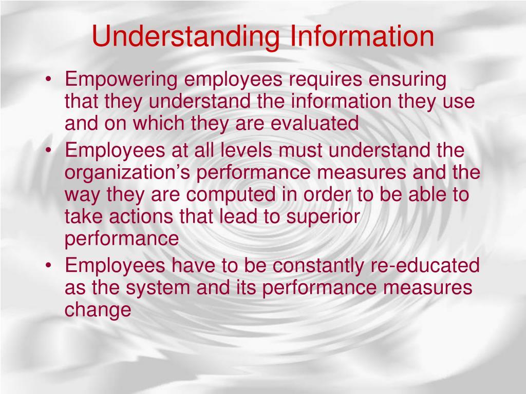 UnderstandingInformation