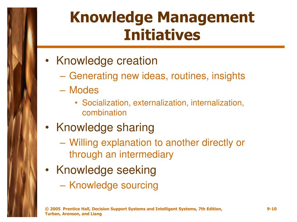Knowledge Management Initiatives