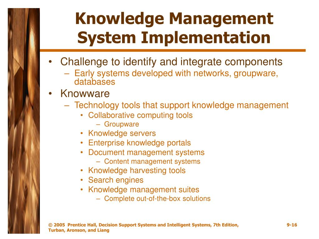 Knowledge Management System Implementation