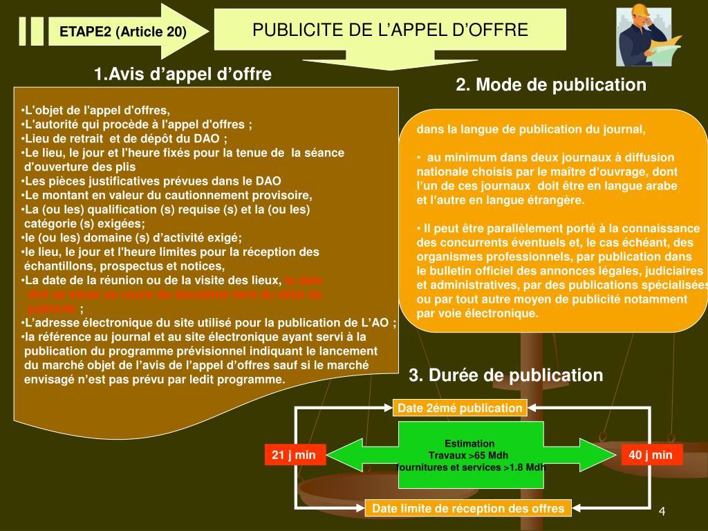 ETAPE2 (Article 20)