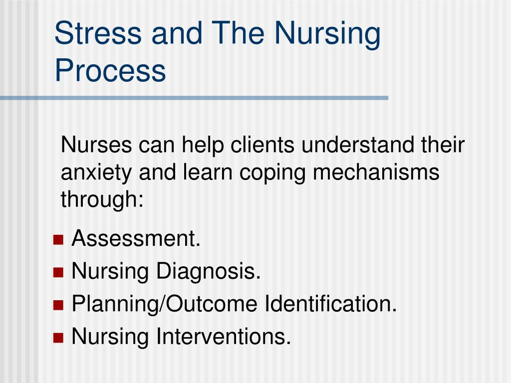 Stress and The Nursing Process