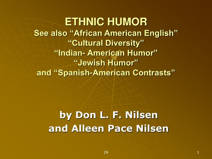 By don l f nilsen and alleen pace nilsen