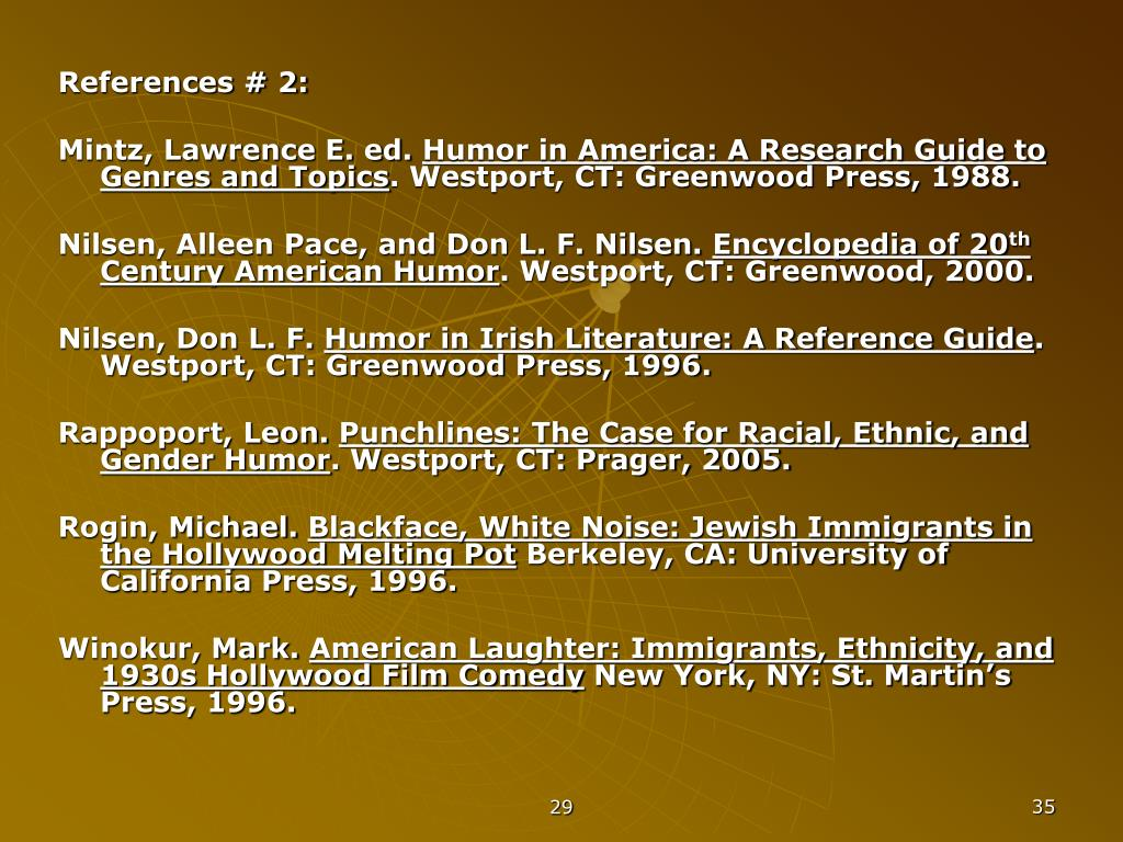 References # 2: