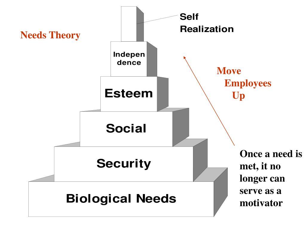 Needs Theory