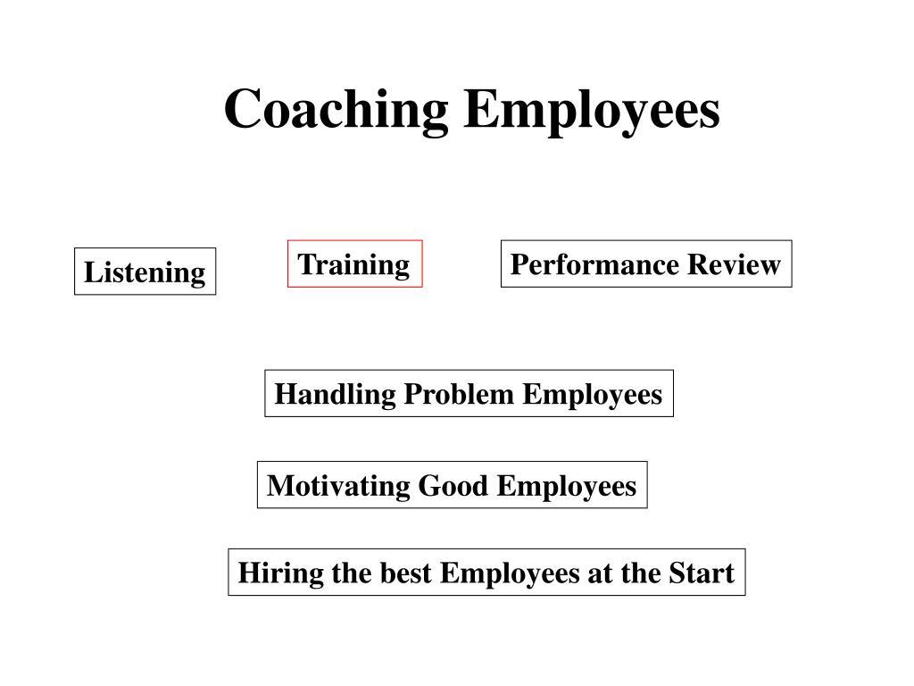 Coaching Employees
