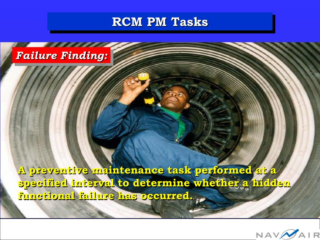RCM PM Tasks
