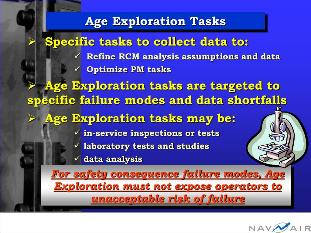 Age Exploration Tasks