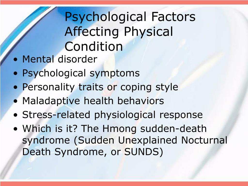 psychological factors of stress essay Stress is the combination of psychological essay/term paper: stress essay moderating factors influence the strength of the stress responses induced by.