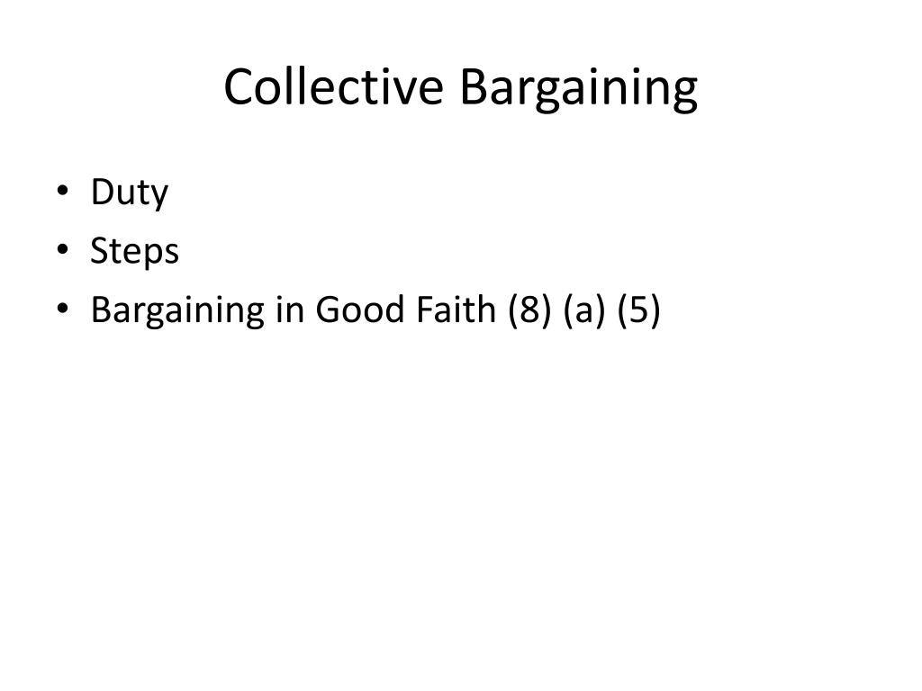 collective bargaining unit