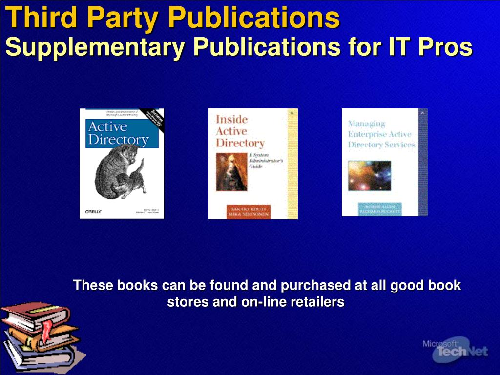 Third Party Publications