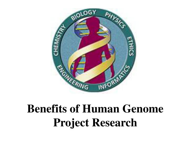 the disadvantages of human genome project essay Advantages and disadvantages of the human genome project pages 1 up to view the complete essay the human genome, decoding the book of life, human genome.